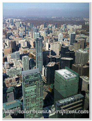 另一個角度的Toronto Downtown