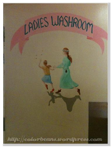 Granville Island 女生的廁所是浪慢的童話
