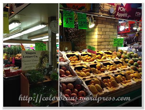 市集少不了的蔬果店