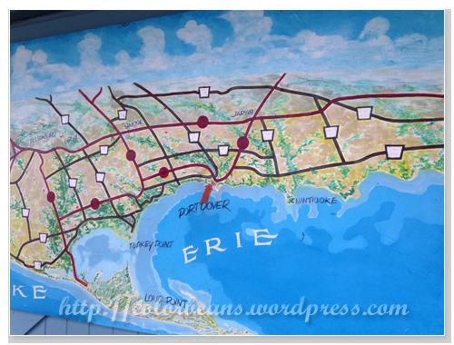 Port Dover是Lake Erie湖畔的一個知名小鎮