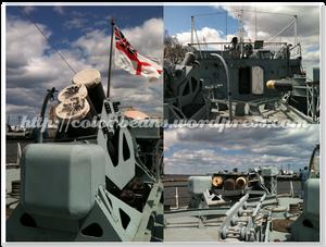 甲板上的一些設備