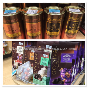 Godiva的巧克力都10塊有找