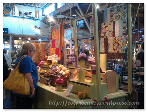 Granville Island 市集內的手工藝品小舖