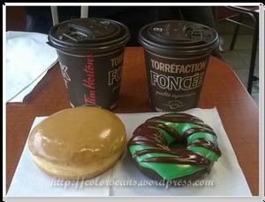 新推出的Dark Roast Coffee,配Canadian Maple和Chocolate Mint