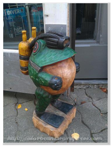"Granville Island 店家有趣的""吉祥物""?!"