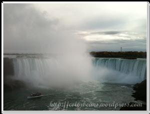 Niagara Falls 之一的 Horseshoe Falls