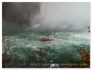 Niagara-Falls 傳說中的迷霧少女(Maid of the Mist)出航摟