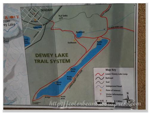 Lower Dewey Lake登山路線