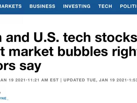 美股和比特币是目前最大的市场泡沫?