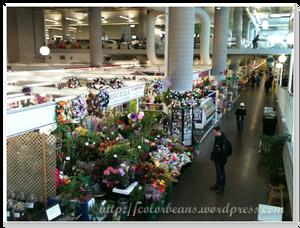 室內market,一整個乾淨明亮~