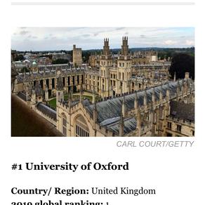 福布斯世界大学排行榜