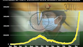 """美国送疫苗、法国送氧气,能救得了""""喝牛尿、洗恒河""""的印度吗?"""