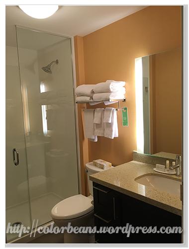 簡單明亮的廁所