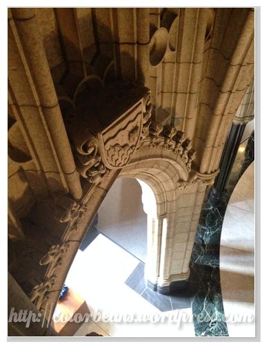 Parliament Buildings一樓的拱門