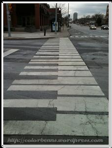 Port Credit 的鋼琴斑馬線