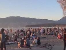 温哥华海滩又现疯狂聚会,警察放纵不管;BC省疫苗面临断供危机