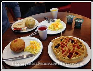 免費早餐隨意吃