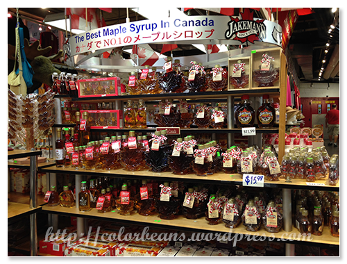 St. Lawrence可以找到各種楓糖相關製品