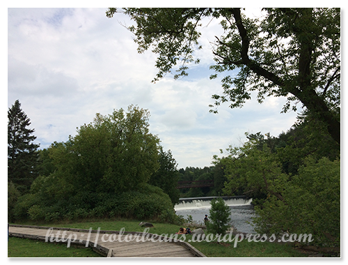 旁邊就是Grand River
