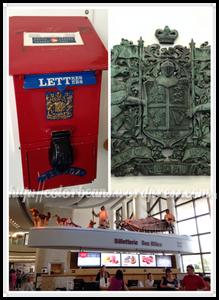 隨便拍了一些照片,左上的是郵筒喔! :D