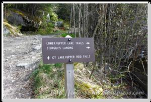 看著指標來去探訪Lower Dewey Lake