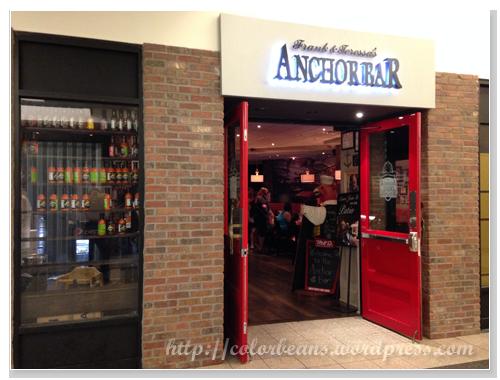 以Buffalo Wings有名的Anchor Bar加拿大分店