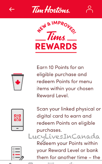 新的Tim Rewards