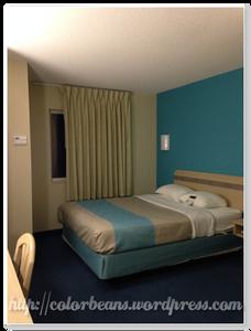 房間裝潢很簡單,保持的 很乾淨