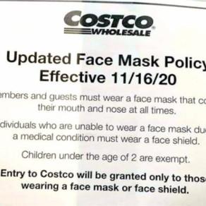Costco拒戴口罩被警察拷走