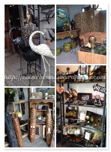 Port Dover賣得一些精美藝品、裝飾品