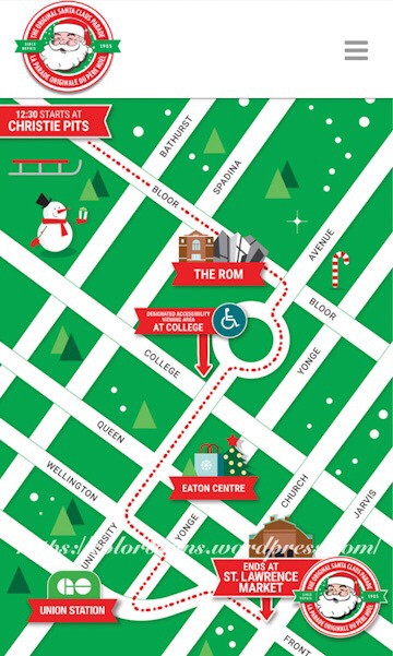 聖誕老人遊行路線