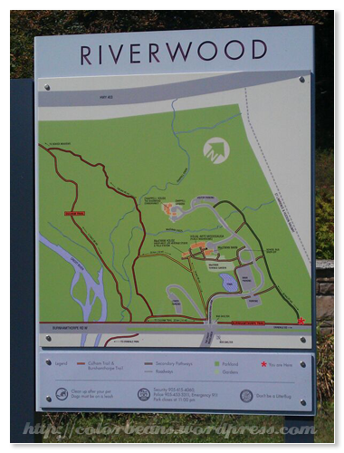 Riverwood Conservation Map