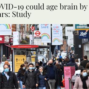 最新研究: 一次染疫,大脑老10岁!抗疫新药来了?