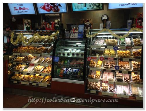 選擇多樣化的甜甜圈