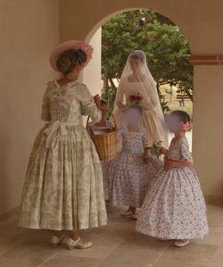 Robe collection Rose Bertin