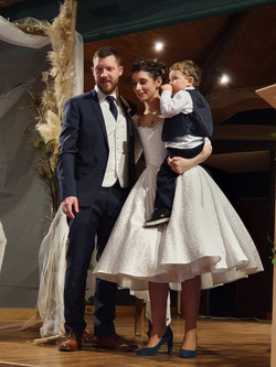 Robe de mariée collection Joséphine Baker