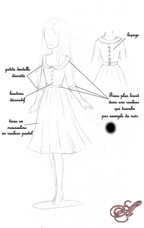 Acompte robe Cassandre Lrt