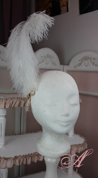 Plume accessoire de tête collection Jane Austen