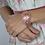 Thumbnail: Bracelet camée support rose