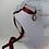 Thumbnail: Tour de cou camée, ruban satin