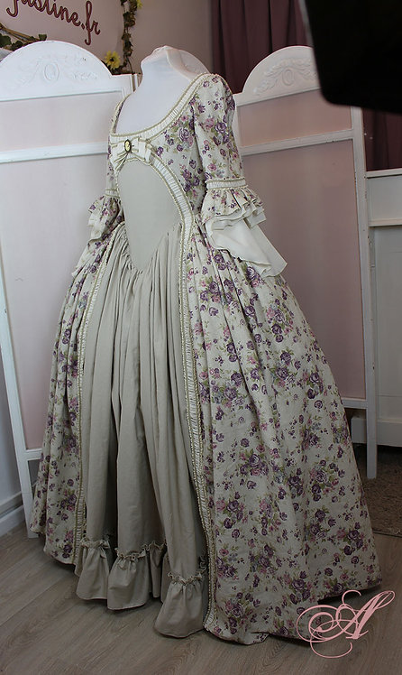 Robe collection Louise d'Épinay