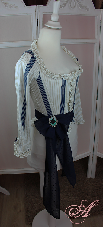 Buste corseté collection Anne Vallayer-Coster