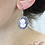 Thumbnail: Boucles d'oreilles camée nickel