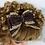 Thumbnail: Nœud pour cheveuxen dentelle et broderie