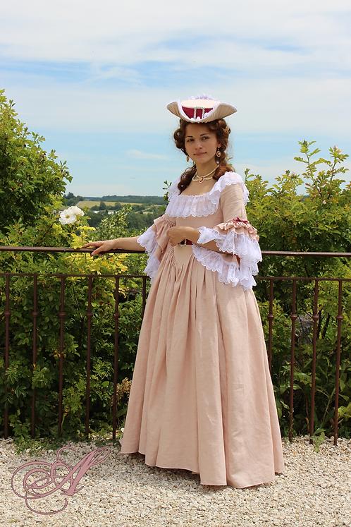Robe collection Marie-Thérèse Rodet Geoffrin revisitée