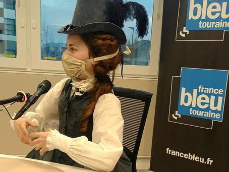 Madame Augustine sur France Bleu Touraine !