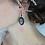 Thumbnail: Boucles d'oreilles camée support noir