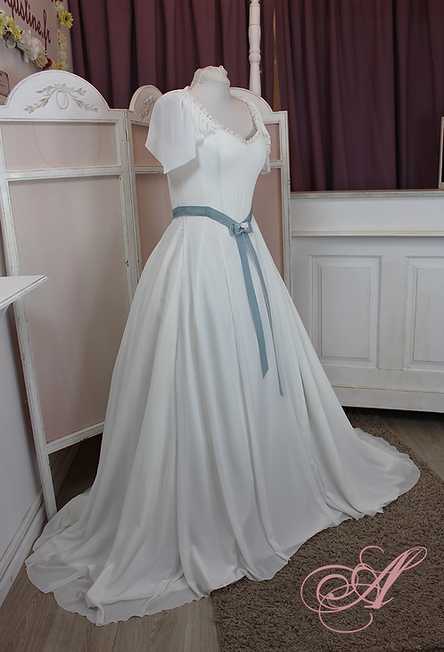 Robe de mariée collection Marie-Anne Pierrette Paulze revisitée