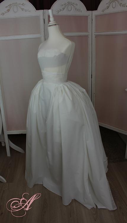 Acompte jupe + buste corseté