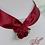 Thumbnail: Tour de cou de fleurs brodées